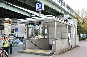 阿波座駅1号出入口