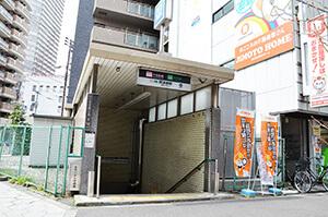 阿波座駅10号出入口
