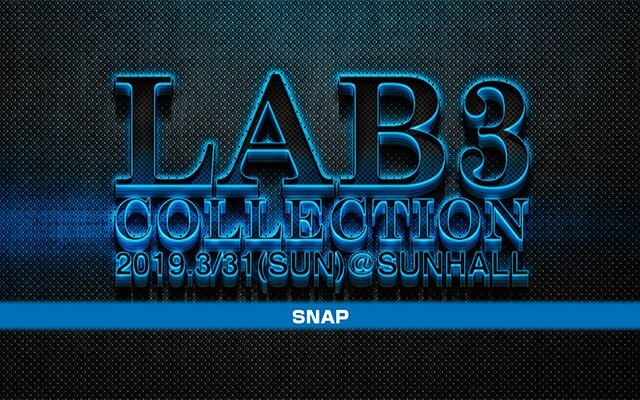 LAB3 COLLECTION 2019